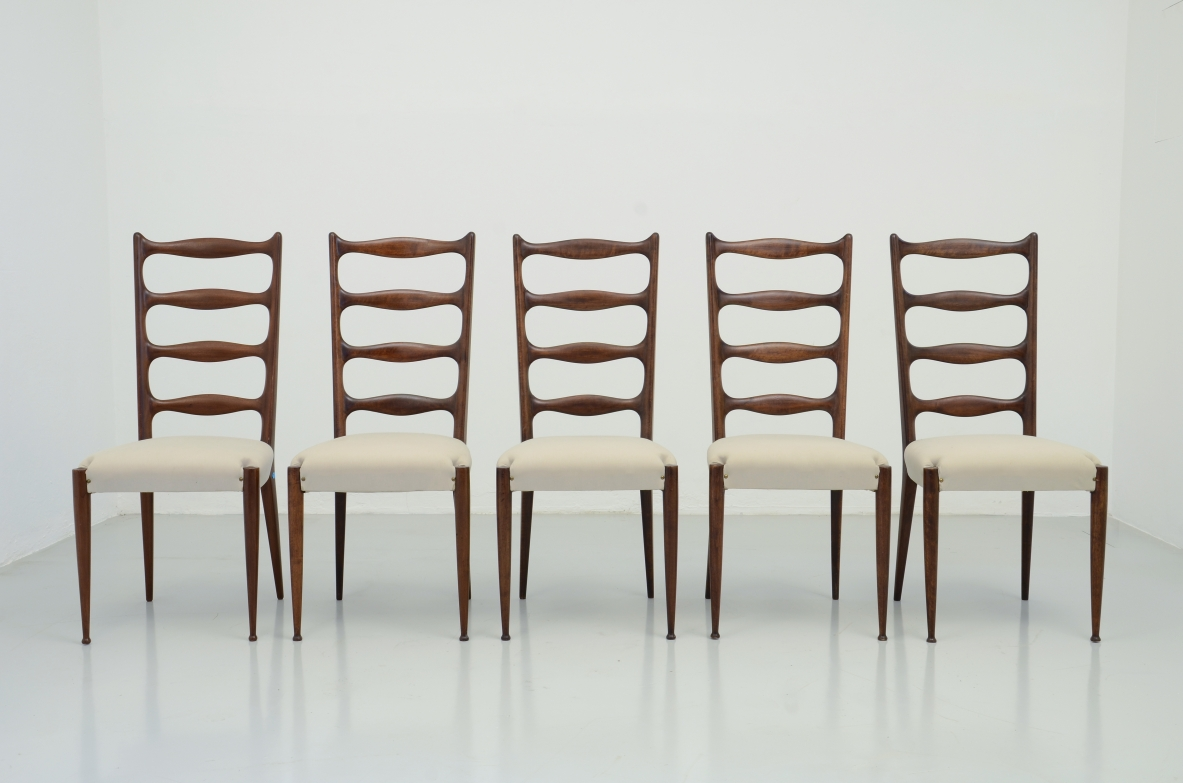 Paolo Buffa mid-century vintage chairs