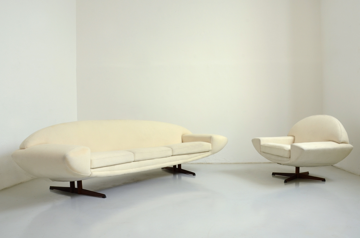 Capri sofa and armchair by Johannes Andersen