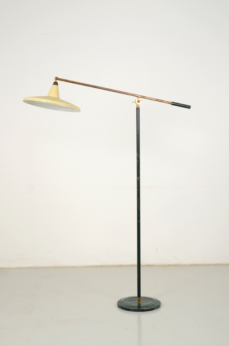 Mid century italian floor lamp on sale Milan