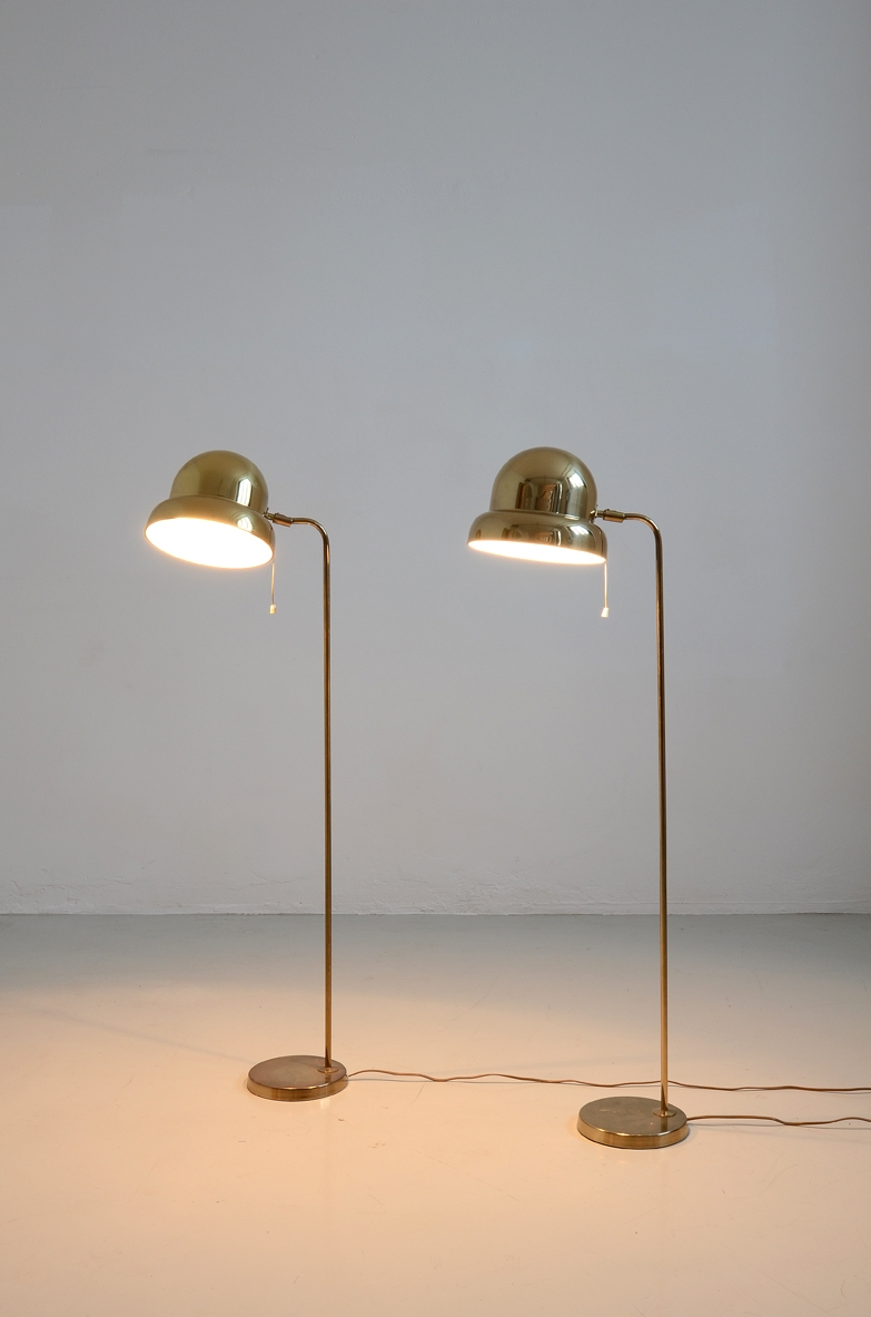 1960's Pair of floor lamp by Bergboms