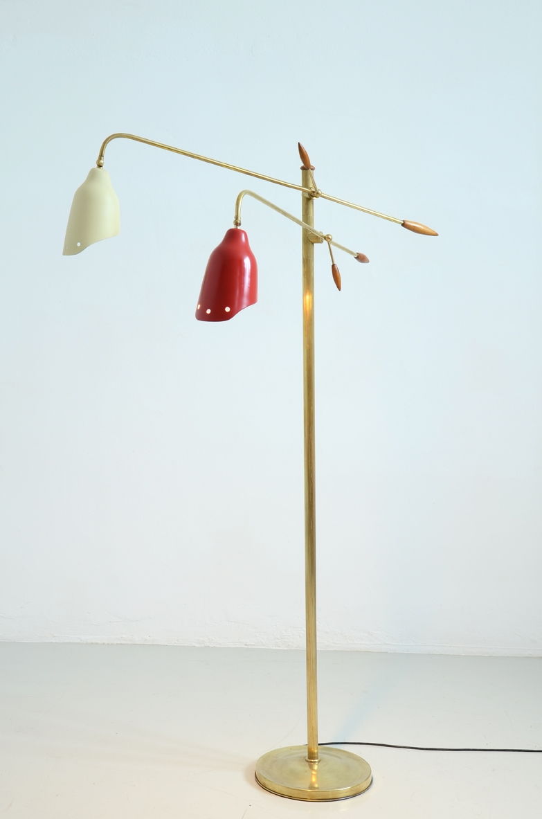 Original floor lamp, Italy 1950's.