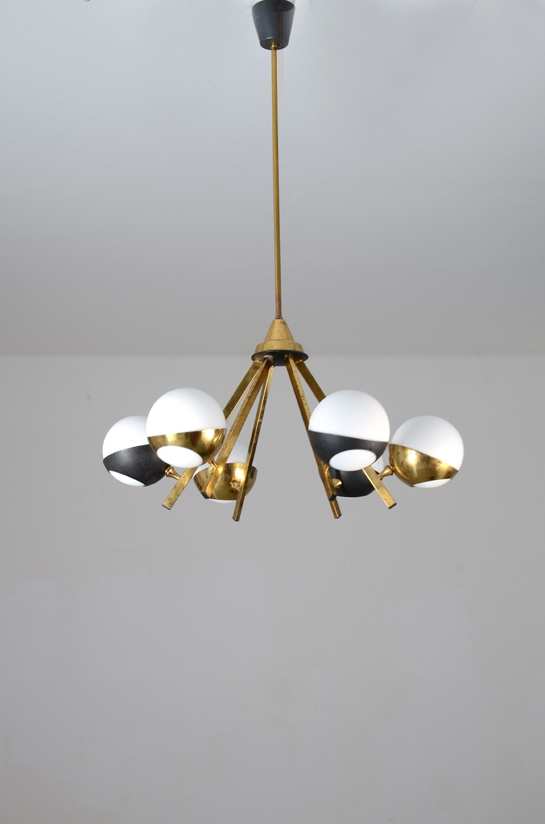 Stilnovo1950's, original vintage ceiling lamp