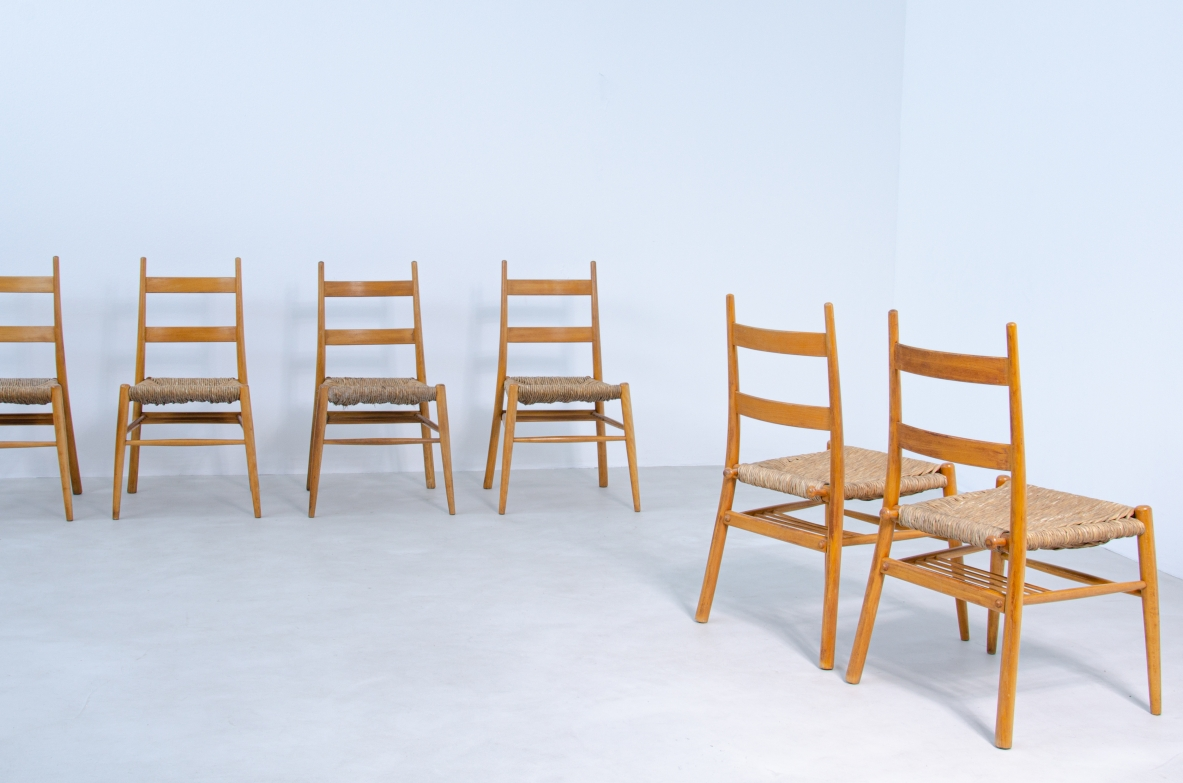 Kaare Klint vintage danish chairs