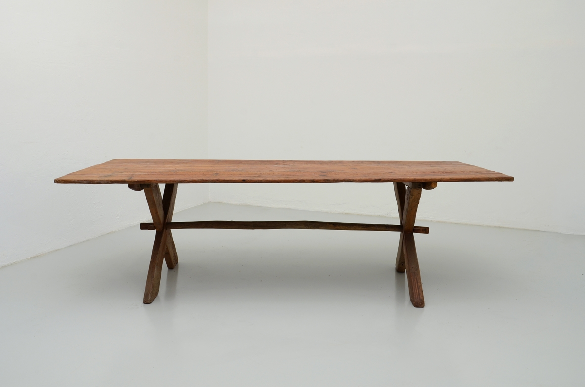 1950's Rustic large dining table