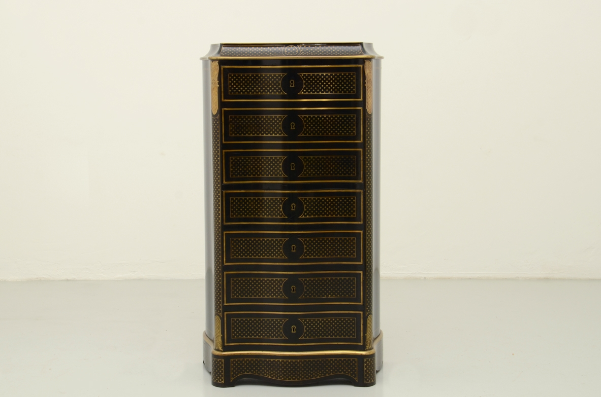 Antique secretair cabinet
