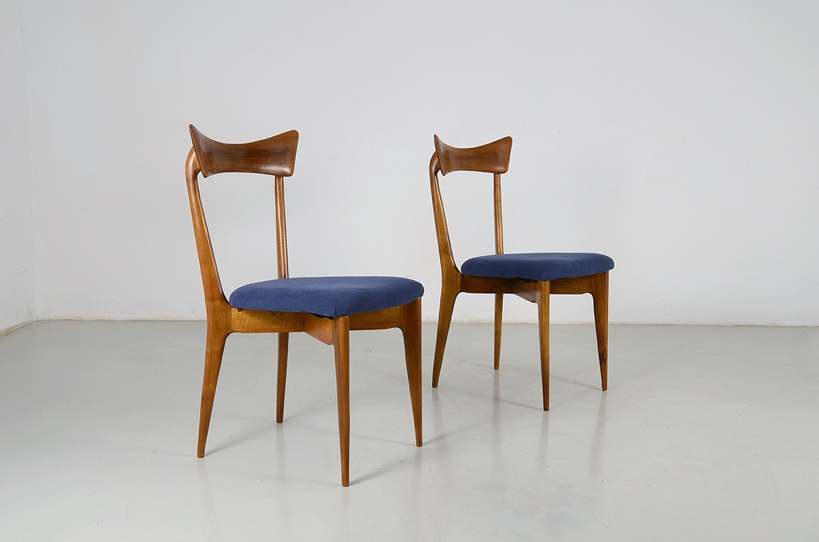 Ico Parisi, rare set of 1950's chairs