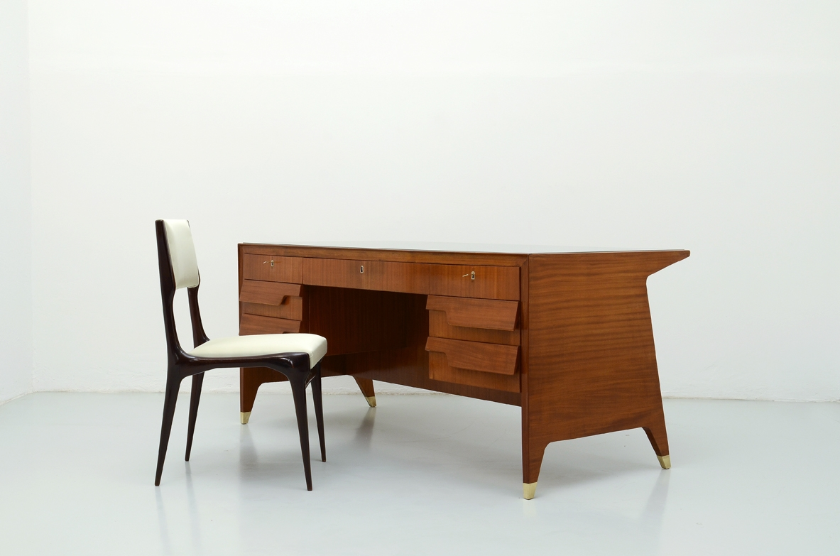 Gio Ponti, executive desk Designed in 1952 for V.B.