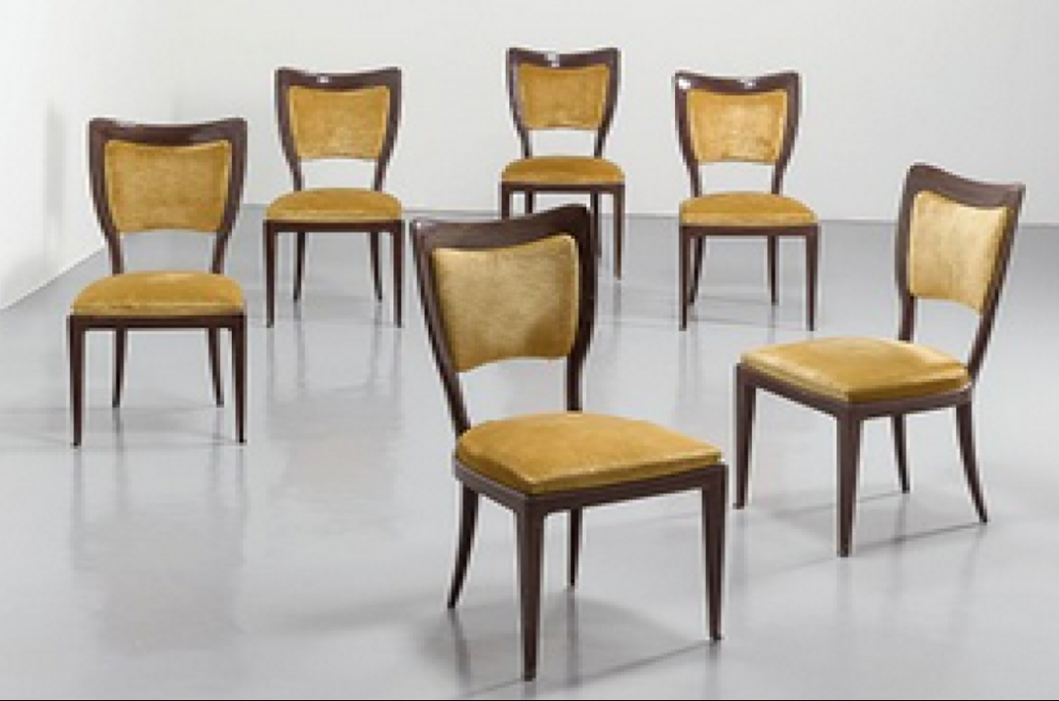 paolo buffa vintage chairs