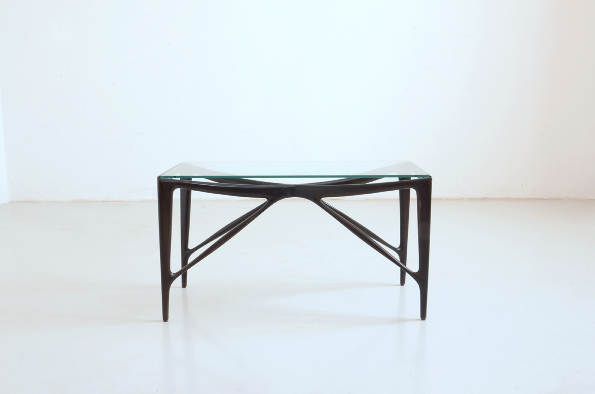 1950's Mid century coffee table in wood