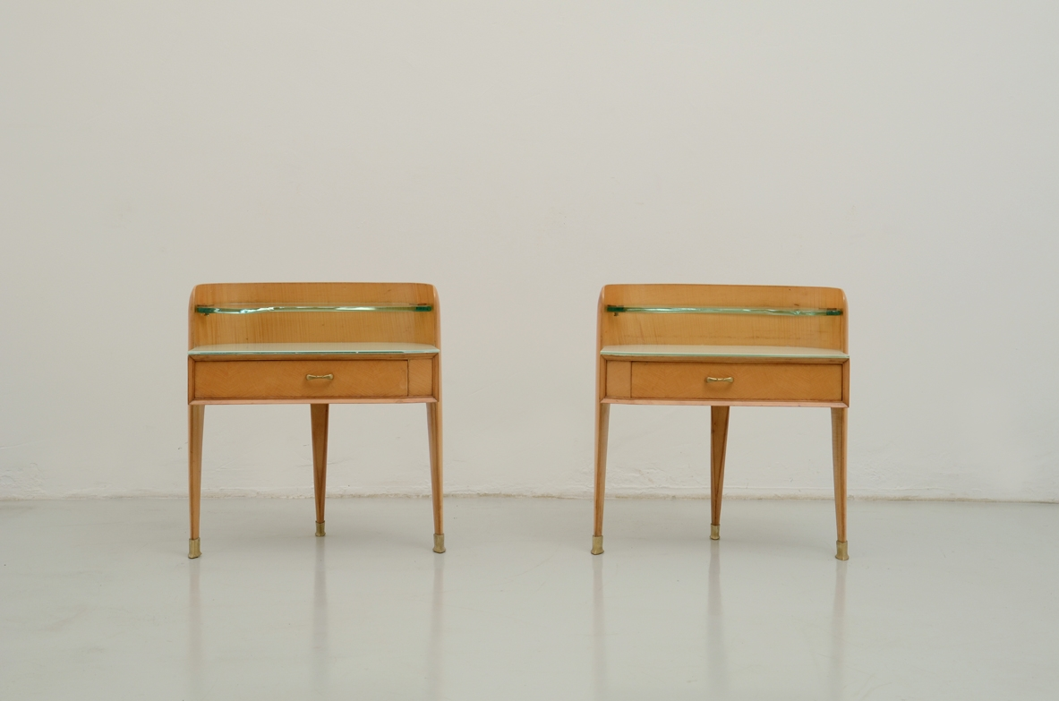 Pair of 1950's italian side tables