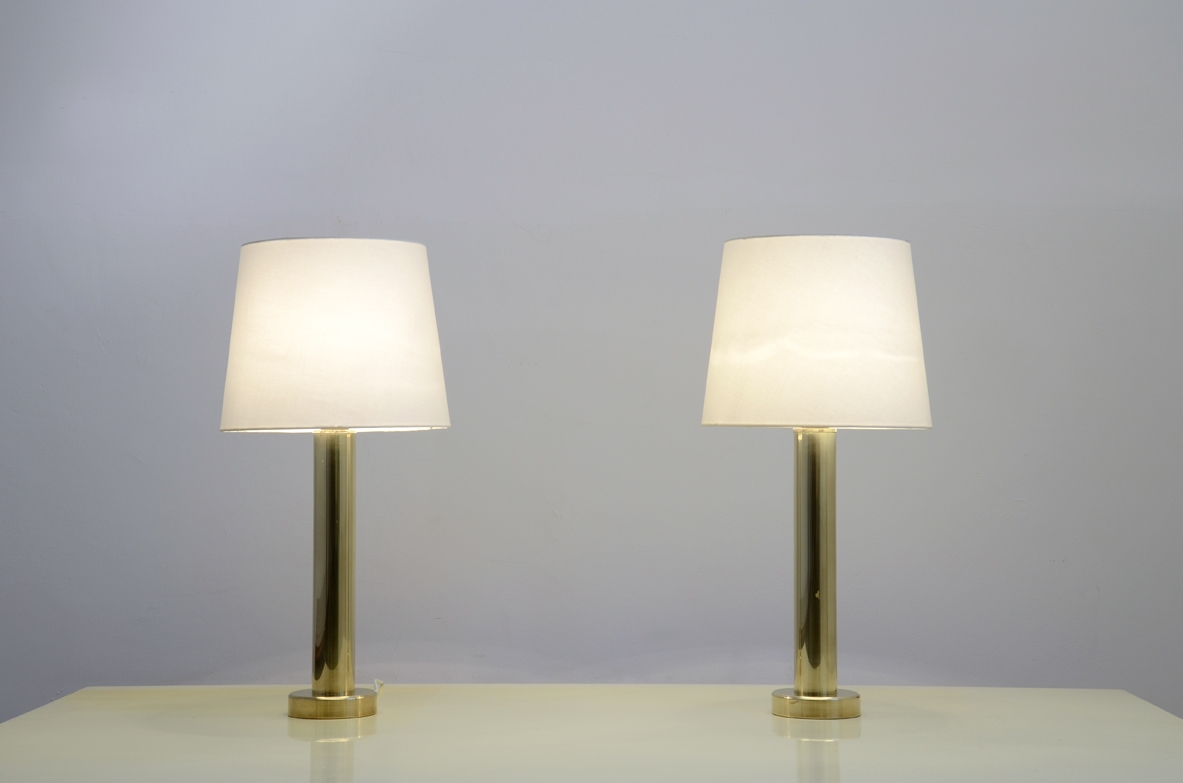 Vintage brass 1960's table lamp
