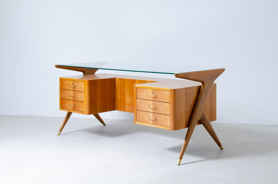 Mid century Italian writing table