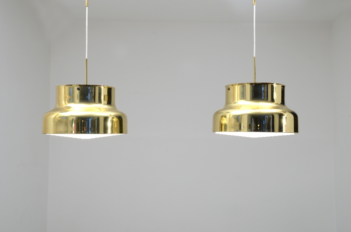 1970s hanging lamps by Anders Pehrson for Atelje Lyktan.
