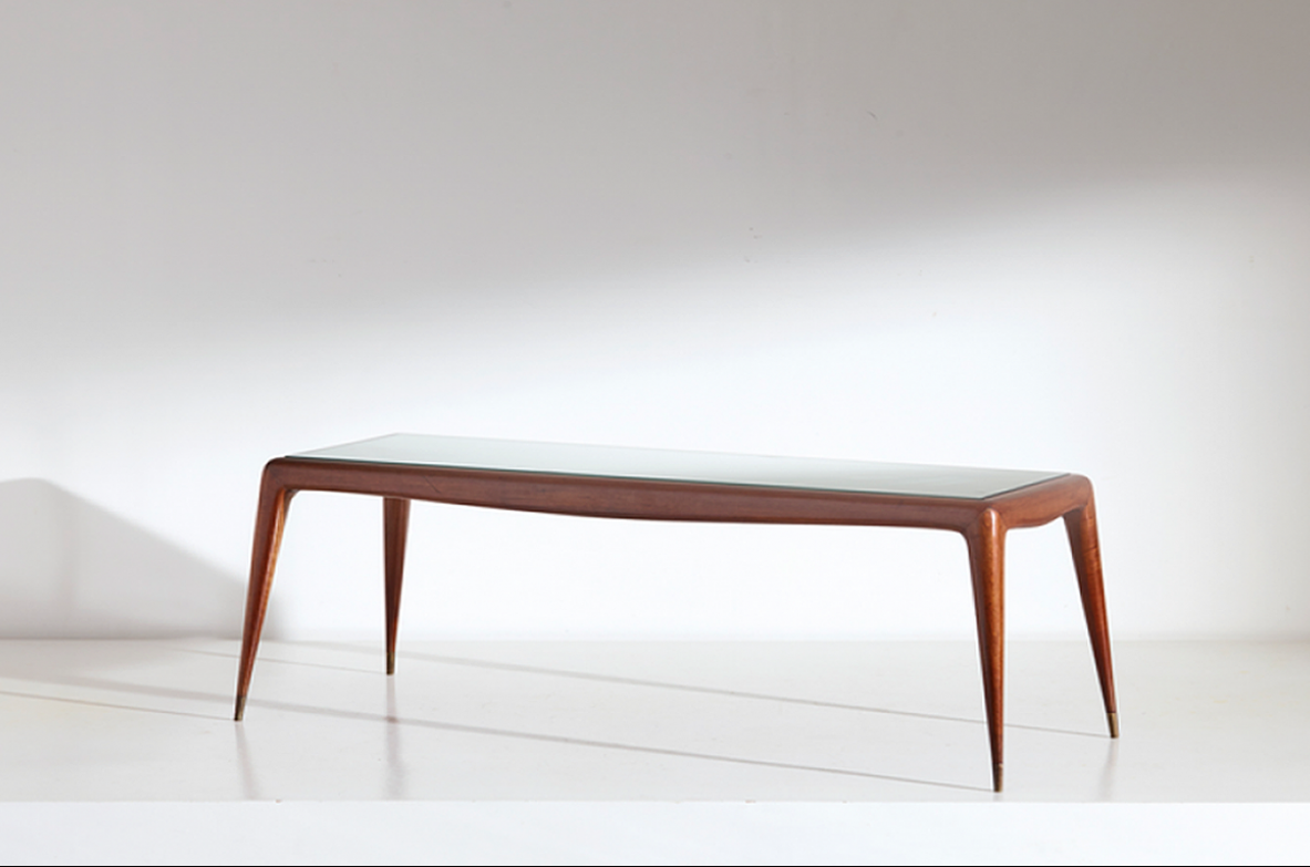 Cesare Lacca, very elegant 1950's low table