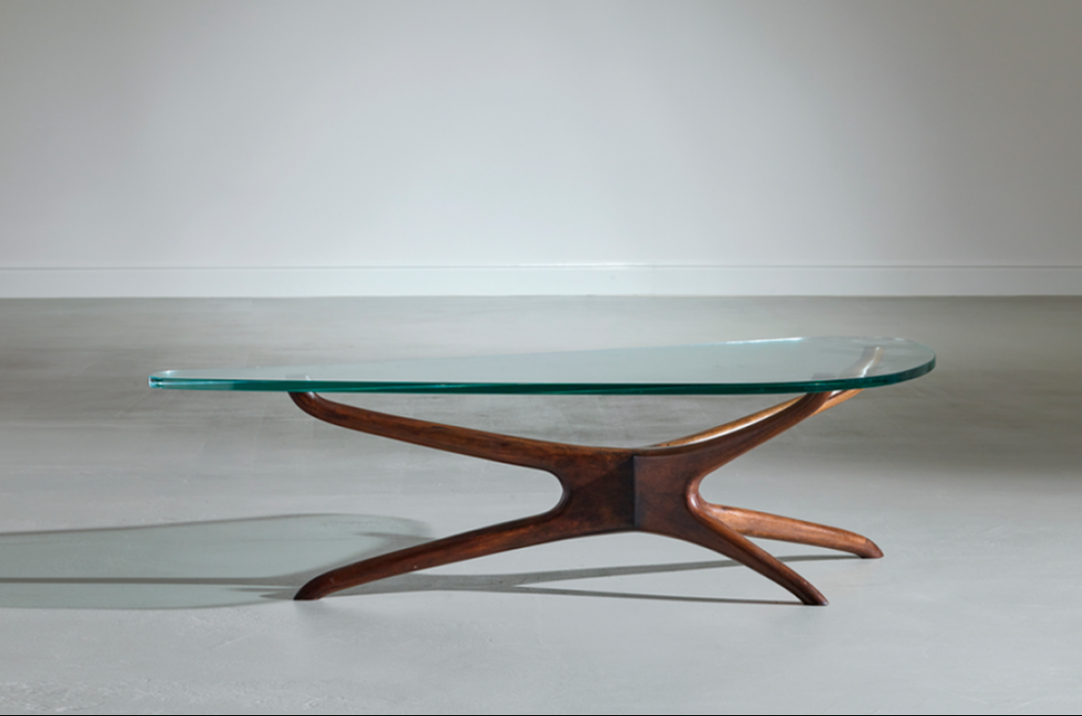 Important low table by Vladimir Kagan. Usa 1955 ca.